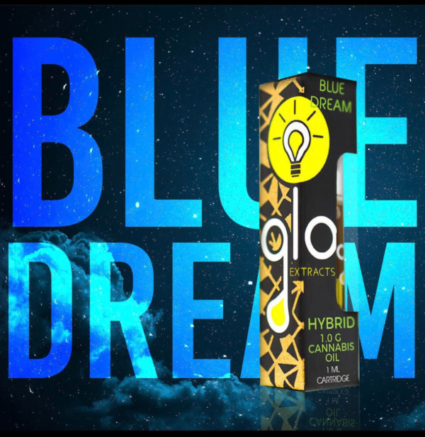 Glo Extract Blue Dream, quality vape carts, buy thc carts online