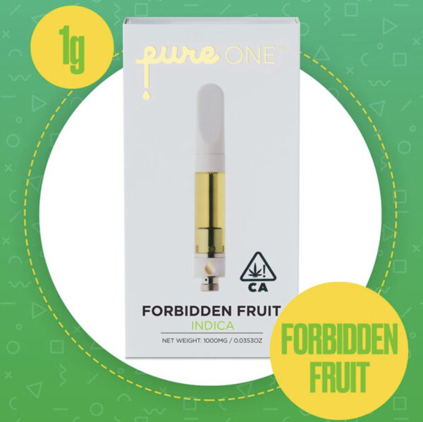 Pure One Forbidden Fruit Cartridge, pure one cartridge price, pure one thc oil cartridge